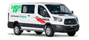 U-Haul van rentals by Sentry Mini Storage in Port Richey
